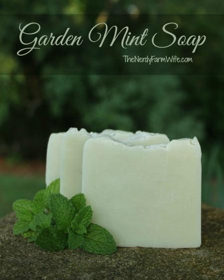 Garden-Mint-Soap-Cold-Process-Soap-Recipe thenerdyfarmwife
