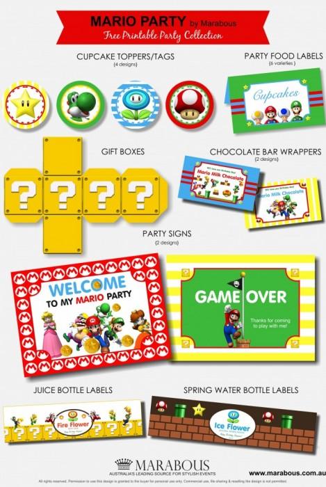 Mario-Party-Printable-Collection-670x1000 printablesparty