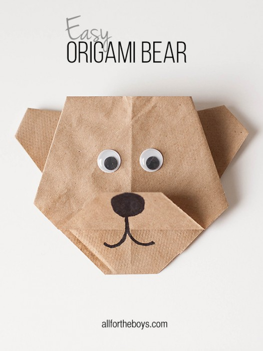 all-for-the-boys-origami-bear-title
