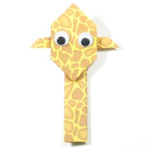 easy-origami-giraffe