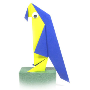 origami-parrot-traditional