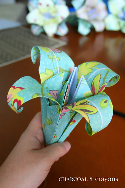paper lily 1