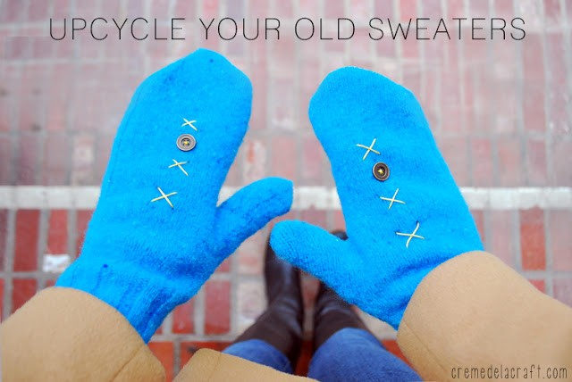 DIY-Make-Mittens-Old-Sweaters-Winter-Craft