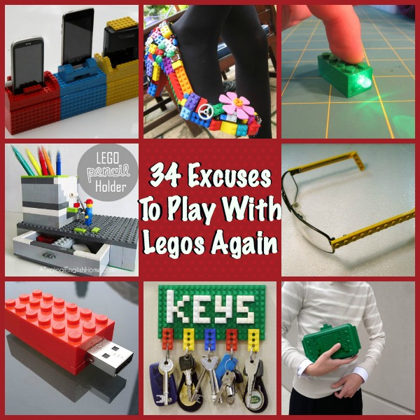 34 Excuses to play with Legos Again