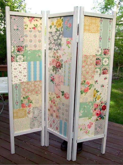 Fabric-DIY-folding-screen