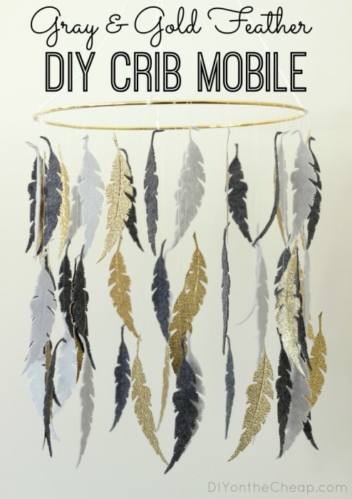 gray-gold-feather-diy-crib-mobile1-723x1024