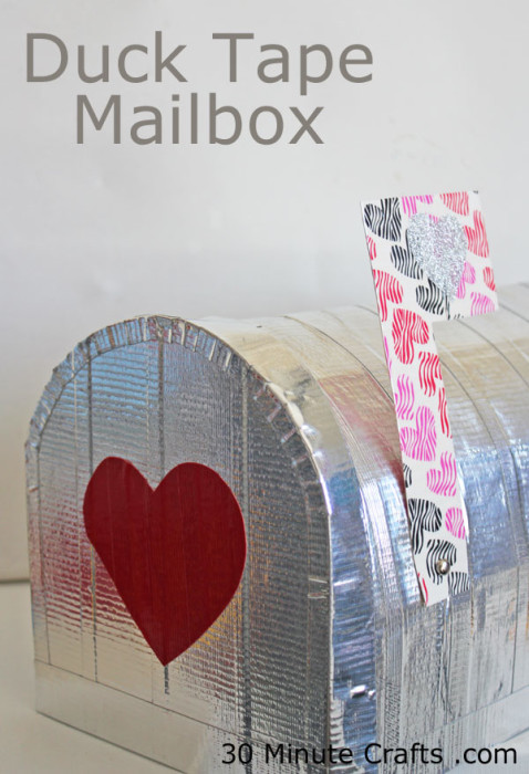 Duck-Tape-Mailbox-on-30-Minute-Crafts