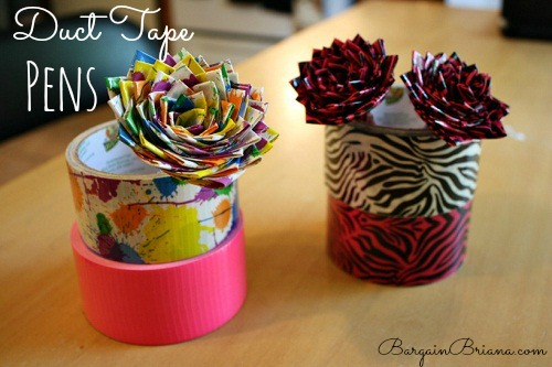 Duct-Tape-Pens