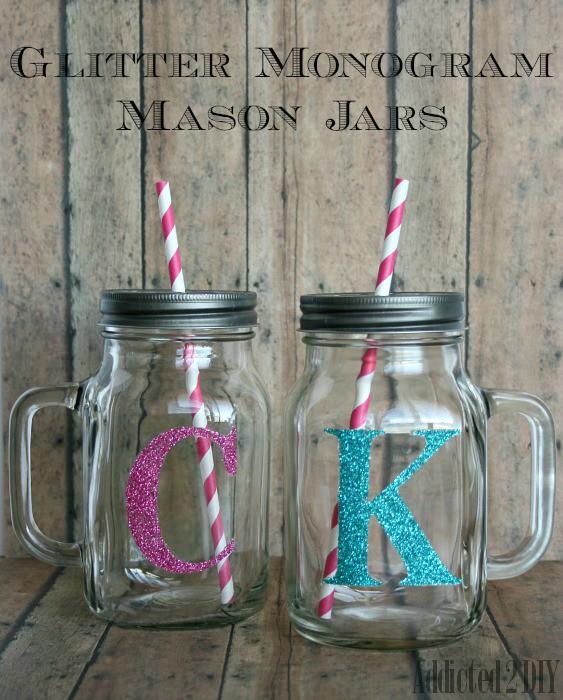 Glitter-Monogram-Mason-Jars