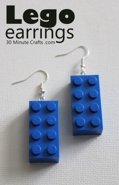Make-your-own-earrings-from-Lego-blocks