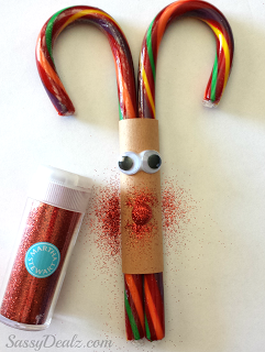 Reindeer Candy Craft with Candy
