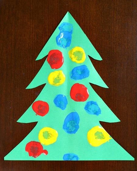 Toddler-Christmas-Tree-Craft