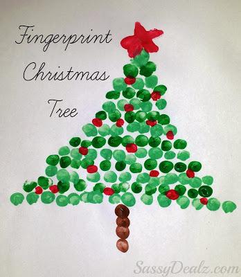 fingerprint-christmas-tree-craft