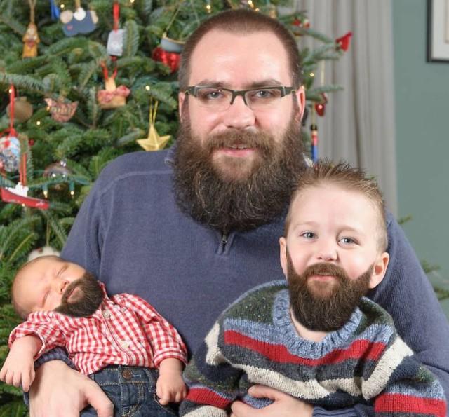 Beards Christmas Card