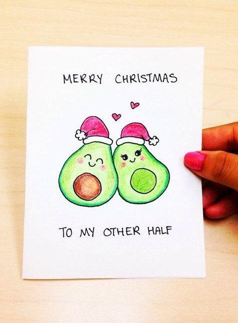Funny Boyfriend or Girlfriend Christmas Card