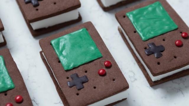 Game Boy Ice Cream Sandwiches