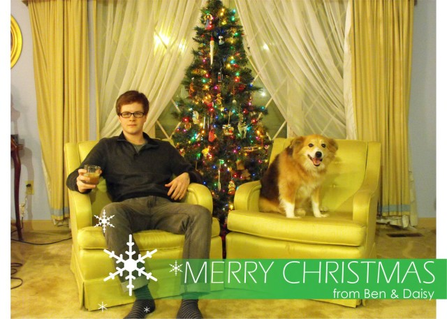 Merry Christmas from Ben and Daisy