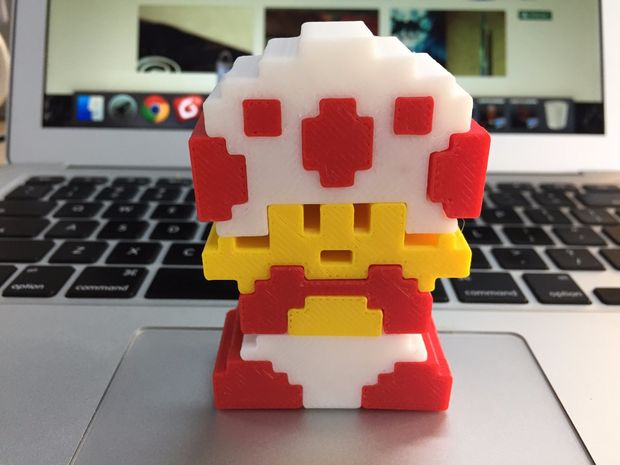 Mushroom Baby Mario Brothers