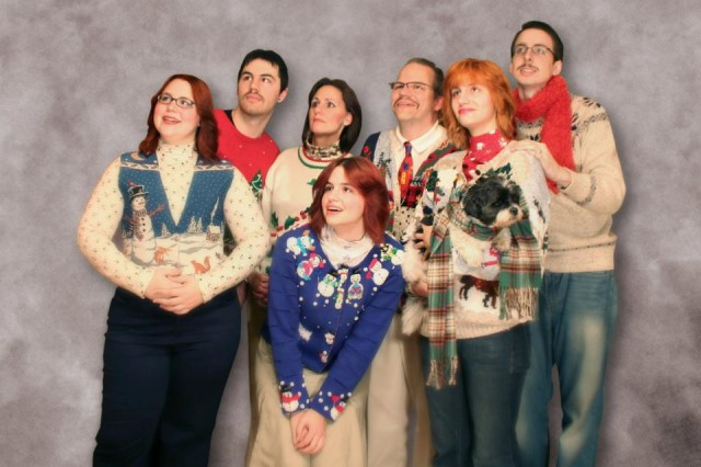 Ugly Sweaters Christmas Card