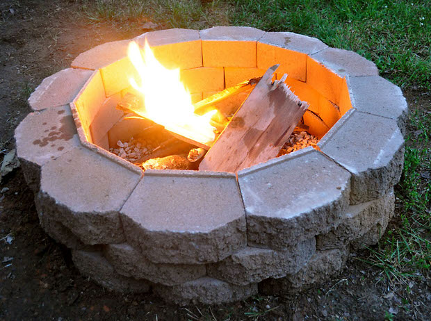 DIY Project How to Build a Backyard Fire Pit