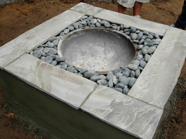 How to Make a Concrete Fire Pit