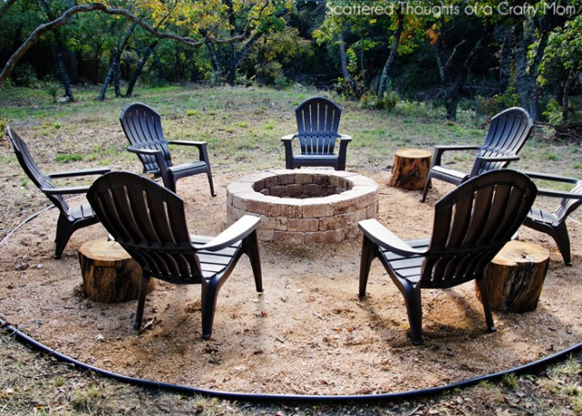 Simple Outdoor Firepit