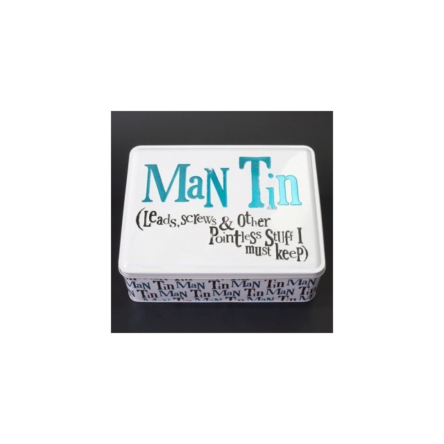 metal tin box for him