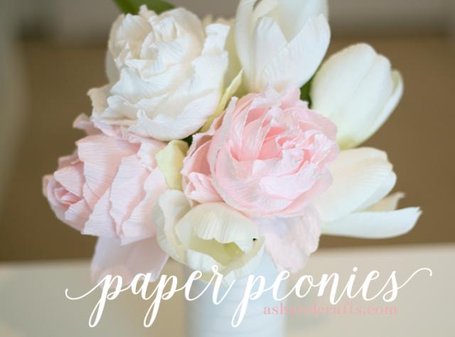Paper Peonies