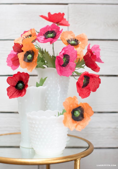 Tissue_Metallic_Paper_Poppies