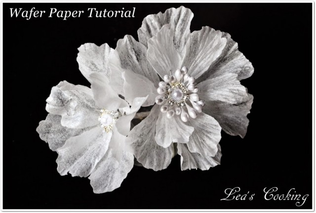 Wired Wafer Paper Flower Tutorial