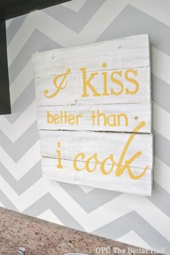 I Kiss Better Than I Cook