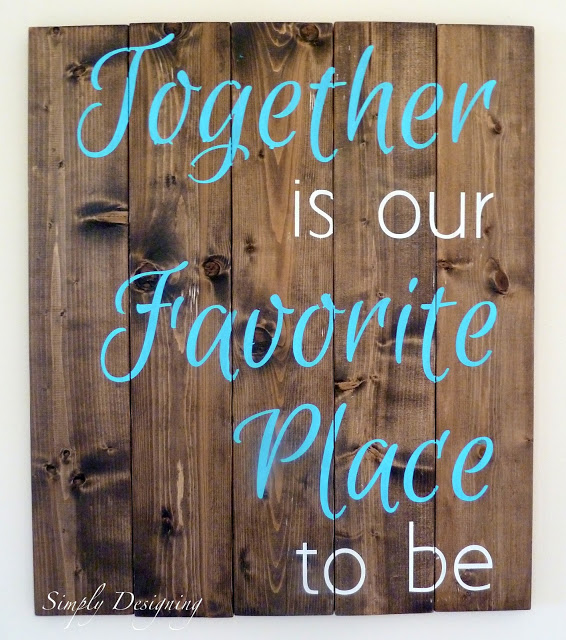 Together is our Favorite Place to be