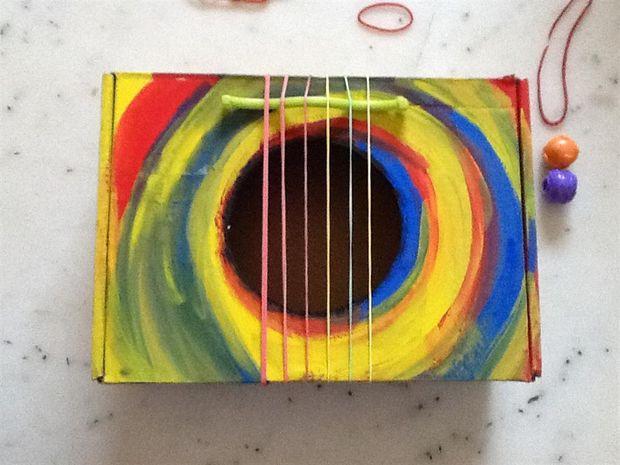 DIY Toy Guitar Box