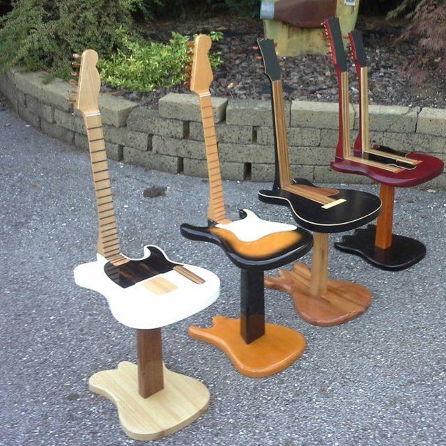 Guitar Chairs
