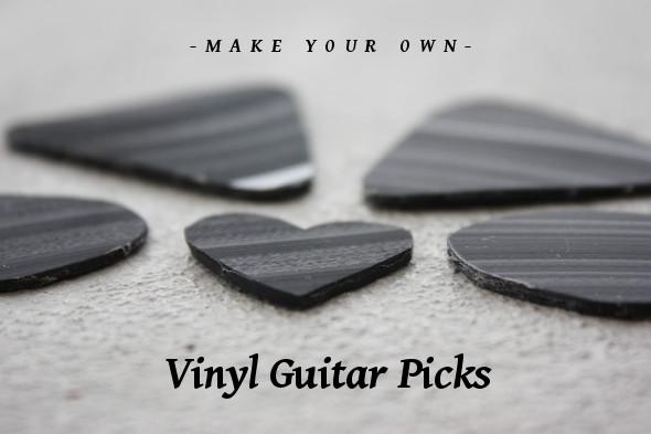 Make Your Own Vinyl Guitar Picks