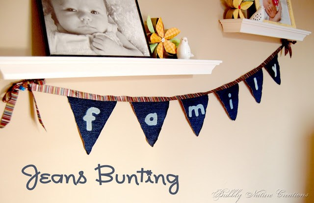 jeans bunting