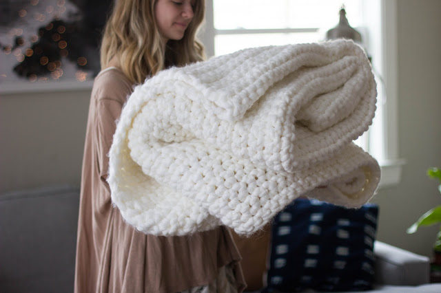Crochet Chunky Blanket