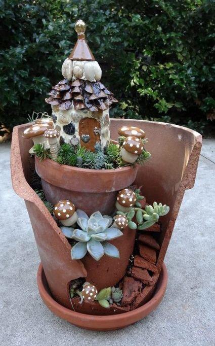 Enchanting Fairy Garden
