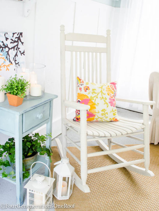 How to Spray Paint a Rocking Chair