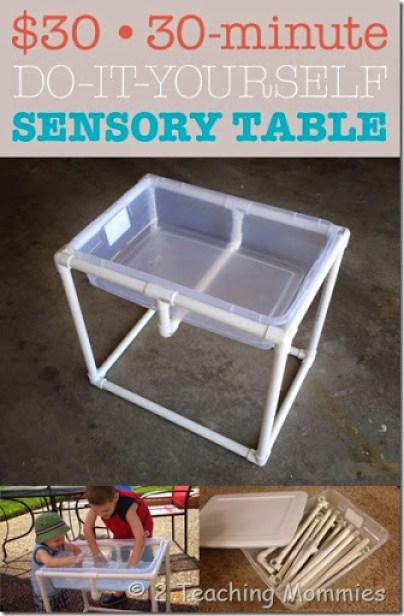 30 Dollar 30 Minute DIY Sensory Table