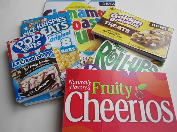Cereal Box Crafts Notepads