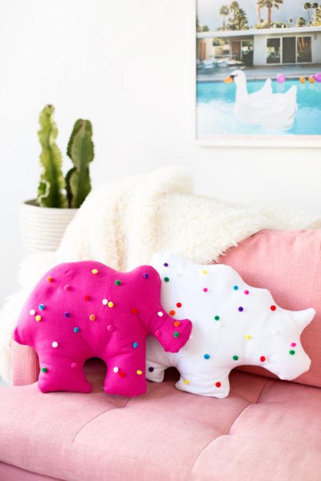 Circus Animal Cookie Pillows