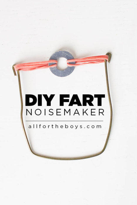 DIY Fart Noisemaker
