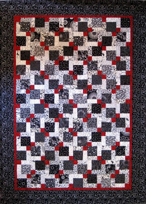 Disapearing 9 Patch Quilt