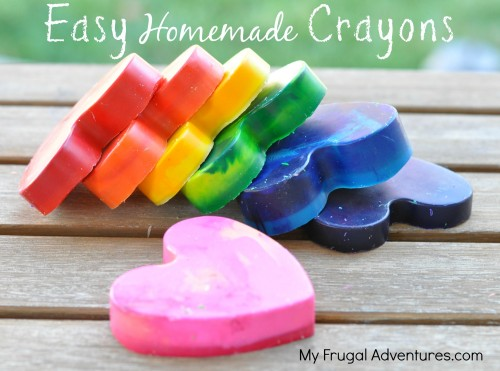 Easy Homemade Crayons