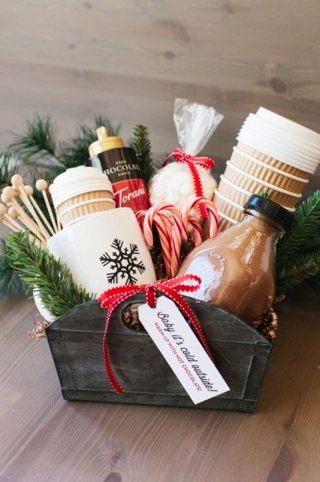 Hot Cocoa Gift Basket