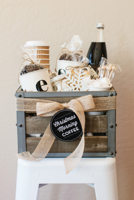 How to Make a Coffee Gift Basket