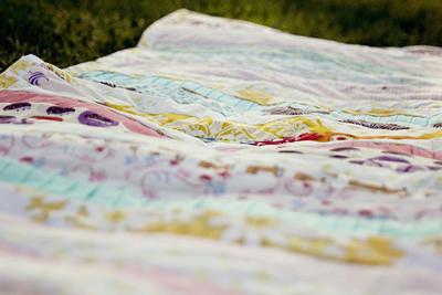 Pleated Strips Beginner Quilt
