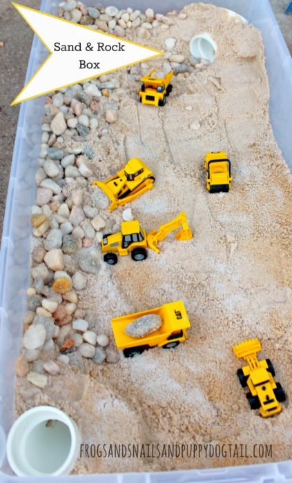 Sand and Rock Box