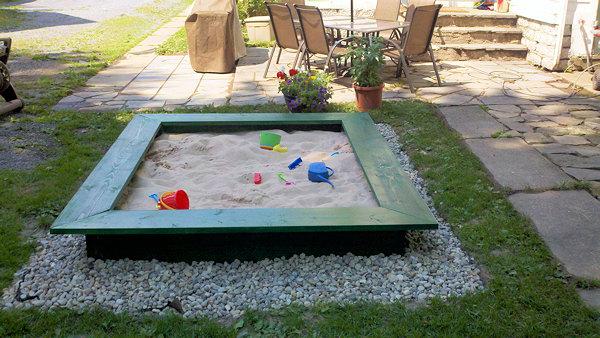 Sandbox DIY